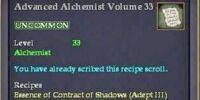 Advanced Alchemist Volume 33