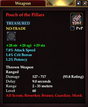 Pouch of the Pillars