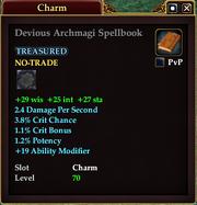 Devious Archmagi Spellbook