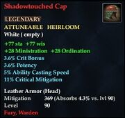 Shadowtouched Cap