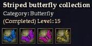 CQ butterfly striped Journal