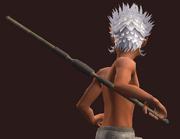 Gord's Bone Half-Staff (Equipped)