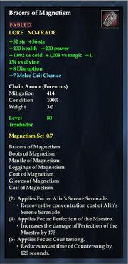 Bracers of Magnetism