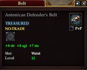 Antonican Defender's Belt
