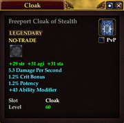 Freeport Cloak of Stealth