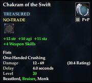 Chakram of the Swift