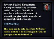 Faywax Sealed Document