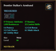 Frontier Stalker's Armband