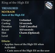 Ring of the High Elf