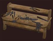 Halfling-tool-bench