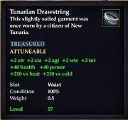 Tunarian Drawstring