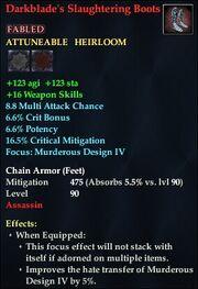 Darkblade's Slaughtering Boots