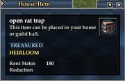 Open rat trap