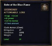 Robe of the Blue Flame