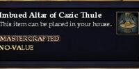 Imbued Altar of Cazic Thule