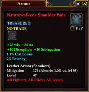 Naturewalker's Shoulder Pads