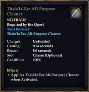 Thalz'Iz'Zaz All-Purpose Cleaner