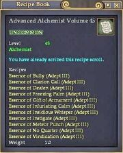Advanced Alchemist Volume 45