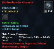 Shadowhowler Gussets