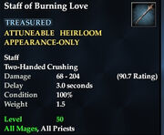 Staff of Burning Love