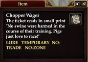Chopper Wager