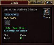 Antonican Stalker's Mantle