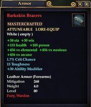 Barkskin Bracers