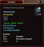 Chilled Steel Symbol