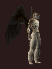 Dark Harbinger's Flight Wings (Visible)