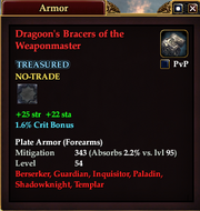 Dragoon's Bracers of the Weaponmaster