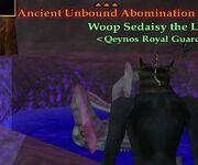 NPC Ancient Unbound Abomination