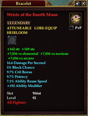 Wrists of the Fourth Moon