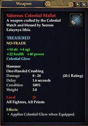 Valorous Celestial Mallet