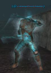 A submerged bound elemental