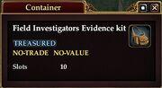 Field Investigator's Evidence Kit