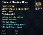 Poisoned Mending Hoop