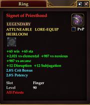 Signet of Priesthood