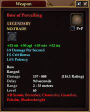 Bow of Prevailing