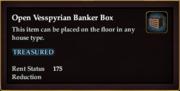 Open Vesspyrian Banker Box
