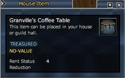Granville's Coffee Table