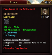 Pauldrons of the Schlemiel