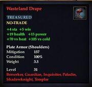Wasteland Drape