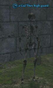 A Gul'Thex high guard