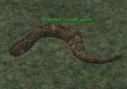 A tainted Growth worm