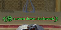 A worn down clockwork