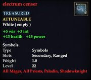 ElectrumCenser