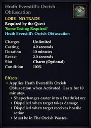 Hrath Everstill's Orcish Obfuscation