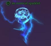 An inimical sparklet
