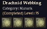 Drachnid Webbing