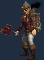 Marrow Cleaver (Equipped)